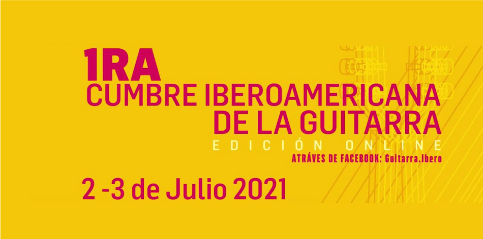 The Liceu Conservatory Foundation participates in the First Ibero-American Guitar Summit, a virtual space for dialogue on this instrument that takes place on July 2 and 3, 2021