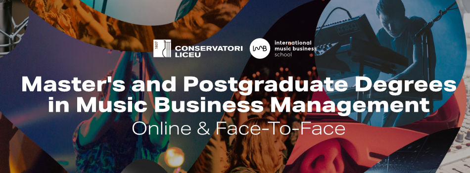 Master  & Postgraduate Degree in Music Business Management