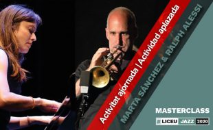 Masterclass with MARTA SÁNCHEZ (piano) and RALPH ALESSI (trumpet)